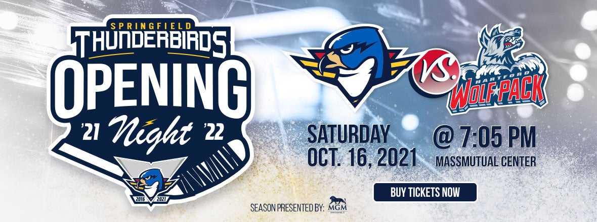 T-Birds to Host Wolf Pack on Opening Night