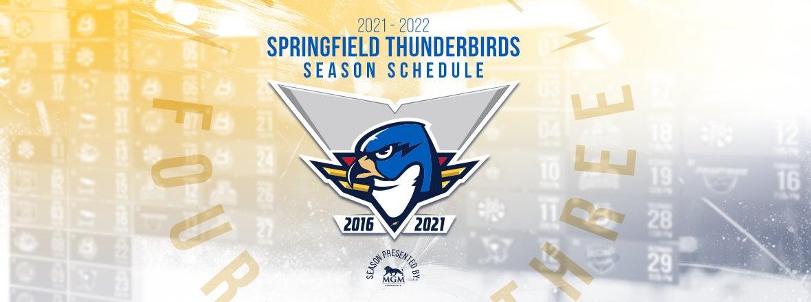 T-Birds Unveil 2021-22 Schedule