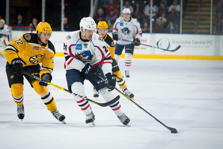 7dcf5b6d7bd T-Birds Host Bruins for Teddy Bear Toss   Military Appreciation ...