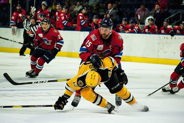 T-Birds vs. Bruins, 9/30/18