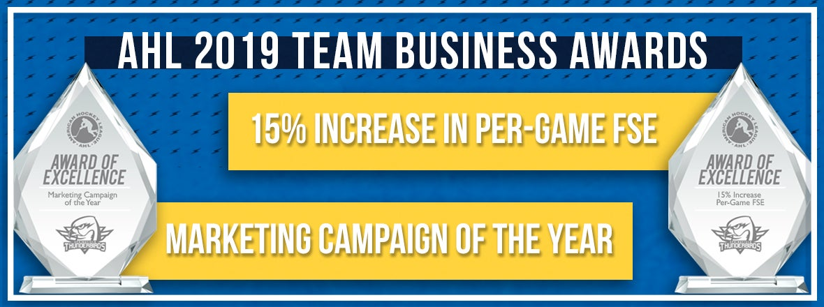 T-Birds Honored at AHL Marketing Meetings