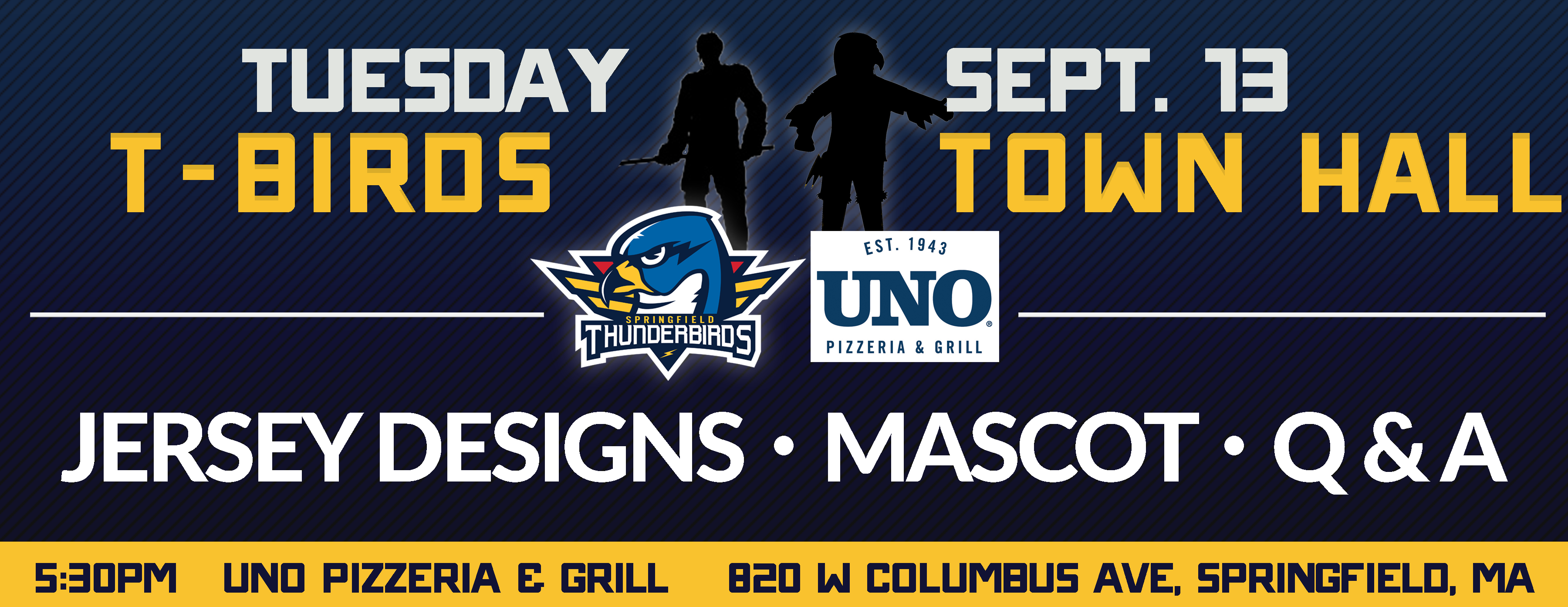 Thunderbirds to Unveil Jersey Designs & Mascot Tuesday
