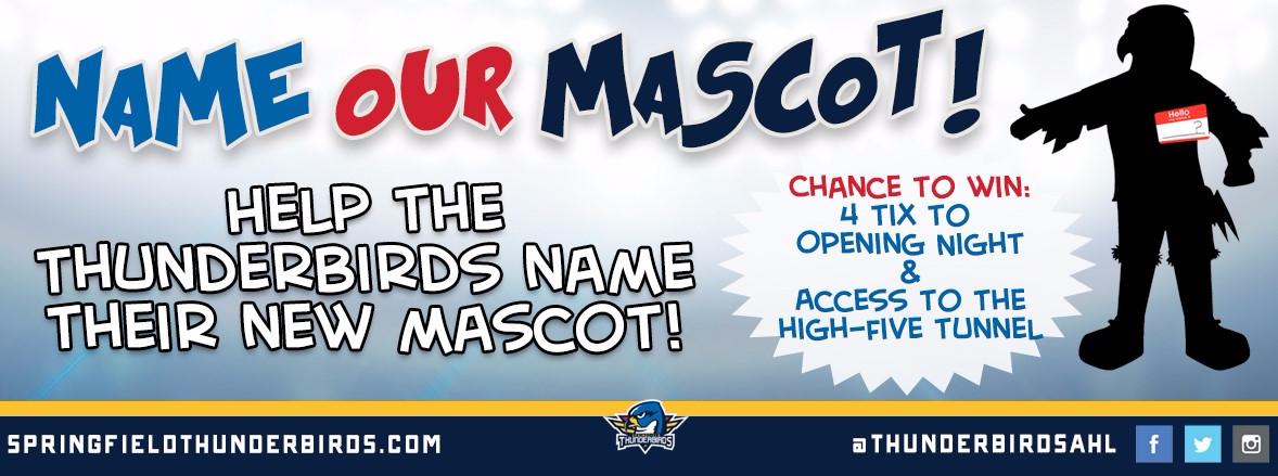 Name the Thunderbirds' Mascot!