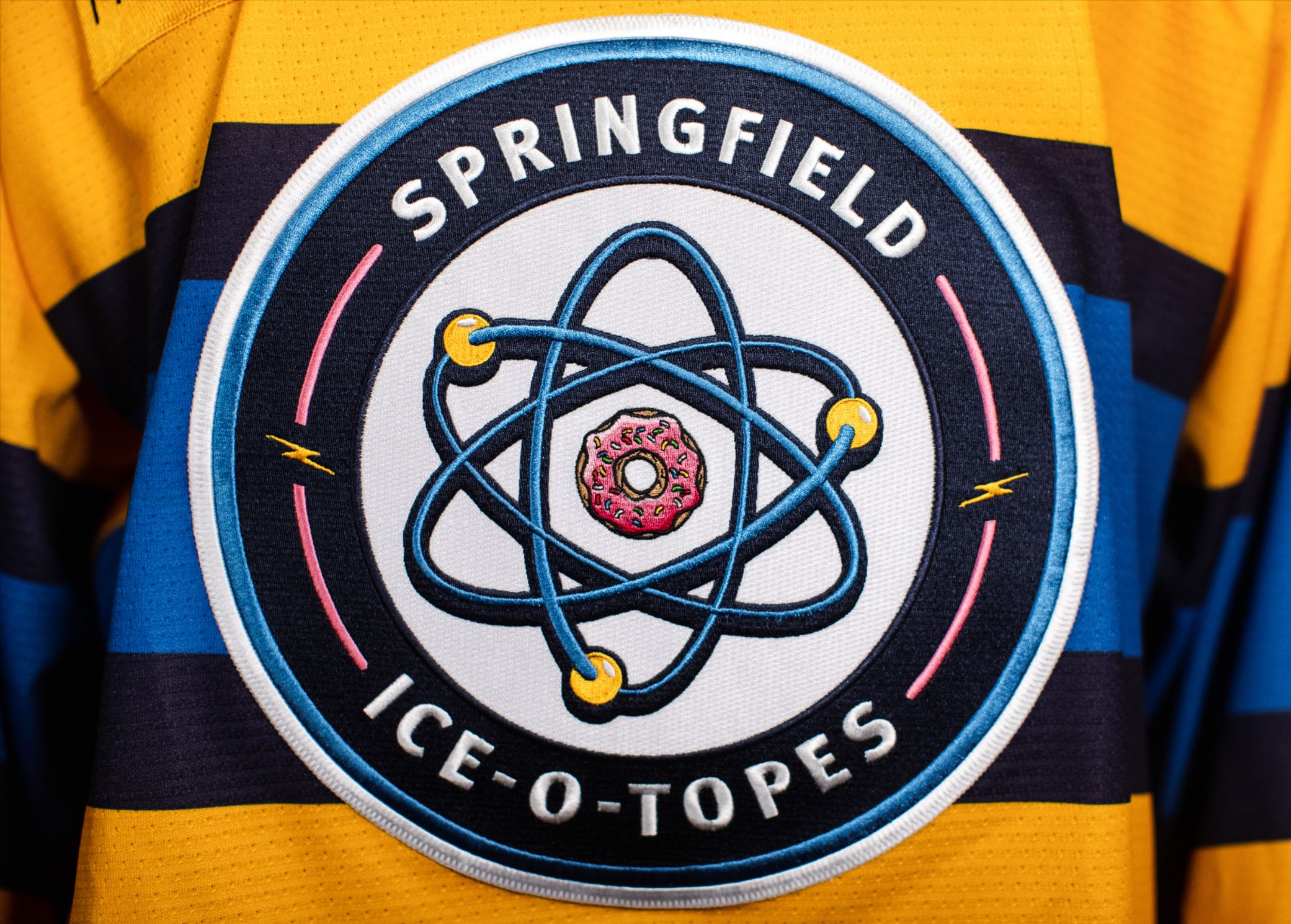 Ice-O-Topes Logo on Jersey