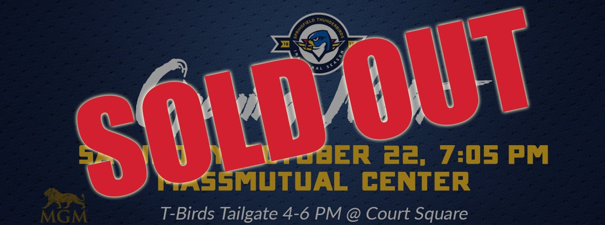Thunderbirds Announce Sold Out Home Opener