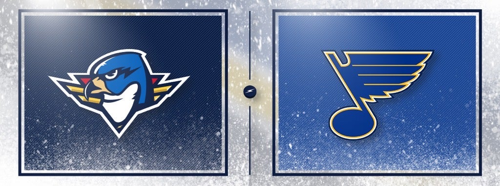 Blues Assign Six Players to T-Birds